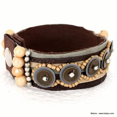 bracelet 0210030 marron