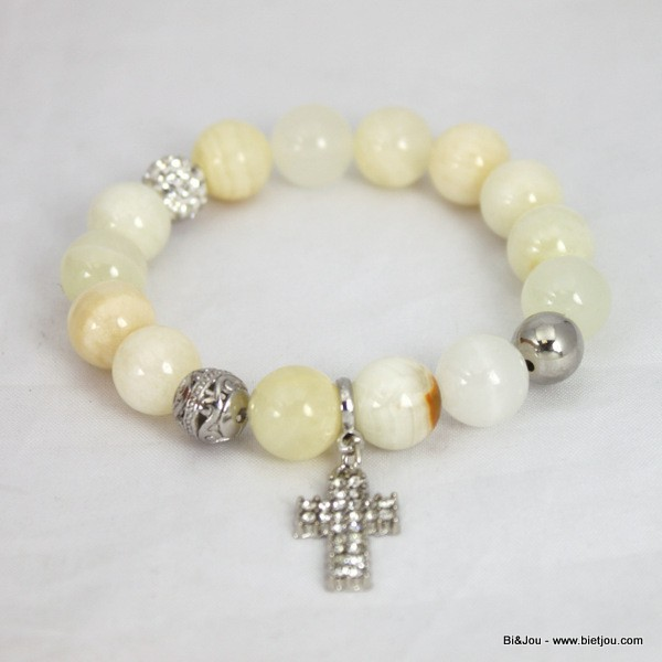 Bracelet fun & flashy perle shambala