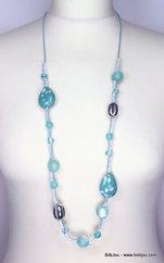 collier 0112073 bleu