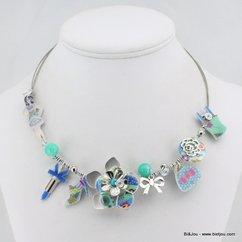 collier 0114340 bleu