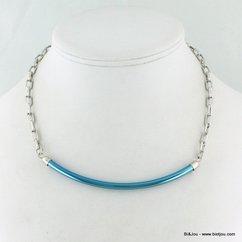 collier 0114303 bleu