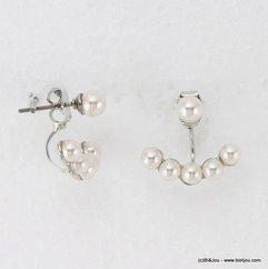 boucles d'oreille 0314569 perle naturel