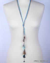 collier 0115261 bleu