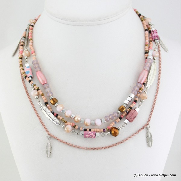 collier plume 0115531