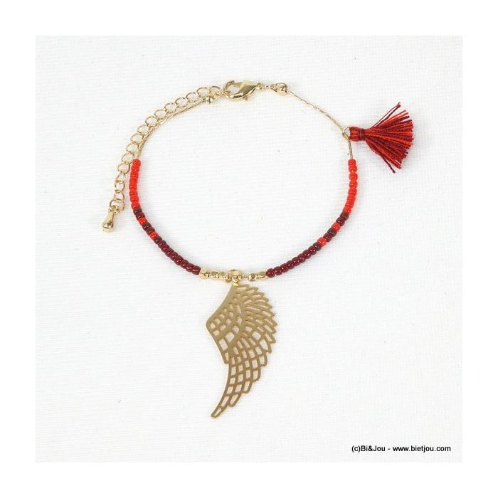 bracelet aile pompon 0215576