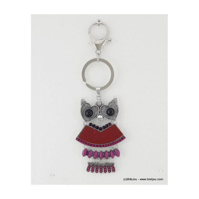 porte-clés bijou de sac chouette-hibou 0814519