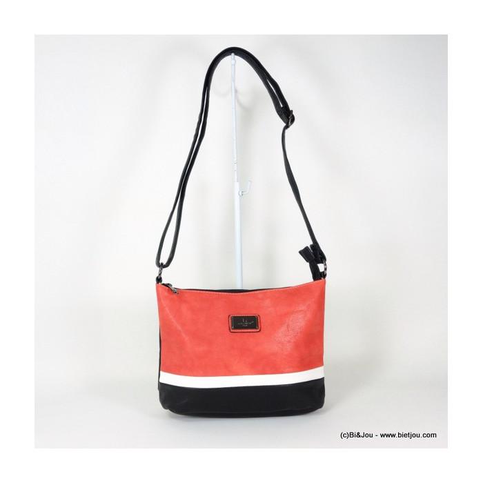 sac à bandoulière touché cuir Gallantry 0916018