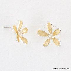 boucles d'oreille 0316011 naturel/beige
