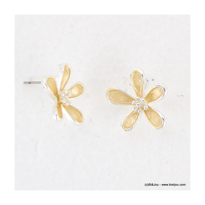 boucles d'oreille fleur 0316011