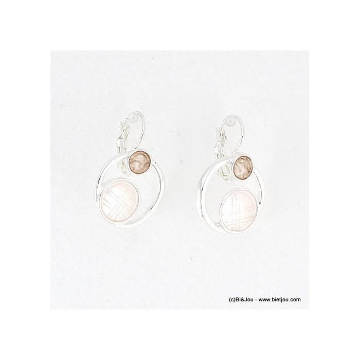 boucles d'oreille géométrique 0316017