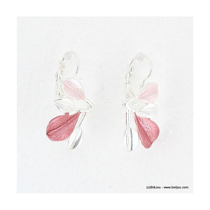 boucles d'oreille feuille pétale 0316018