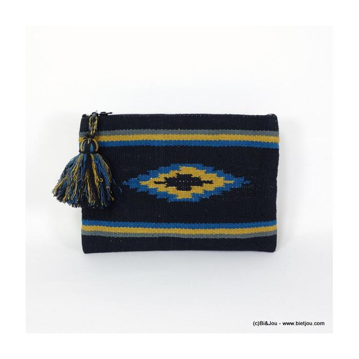pochette style colombien ikat 0916040