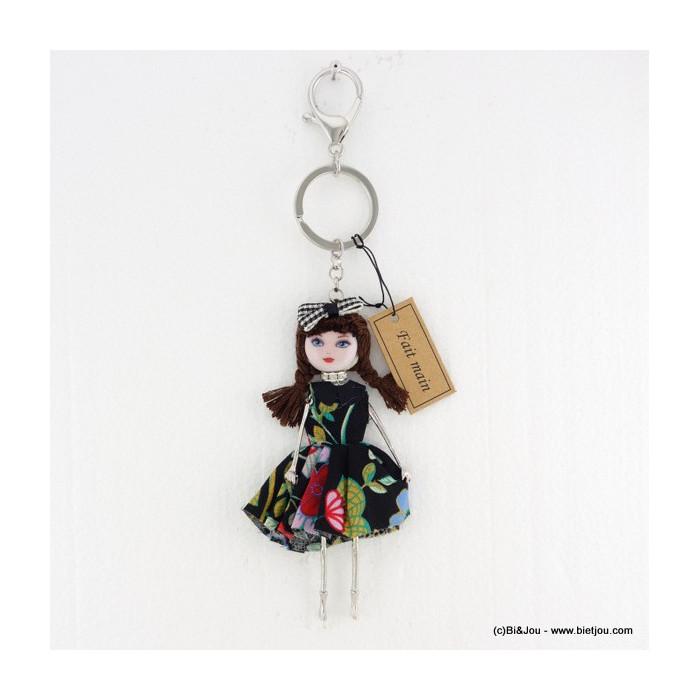 porte-clés bijou de sac poupée 0816005