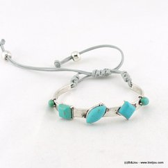 bracelet 0216055 bleu turquoise