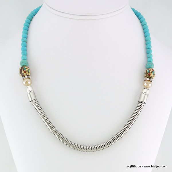collier turquoise 0116147
