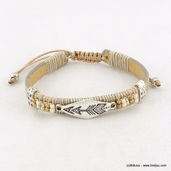 bracelet 0216054 naturel/beige