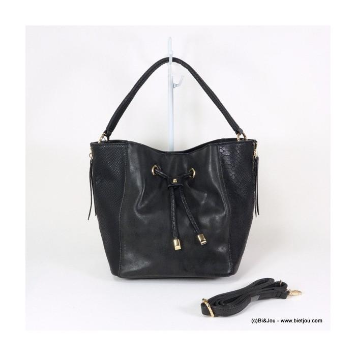 cabas femme Flora&Co imitation cuir effet béton 0916046