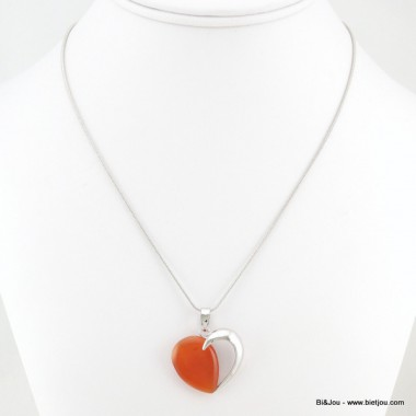 collier coeur 0116166