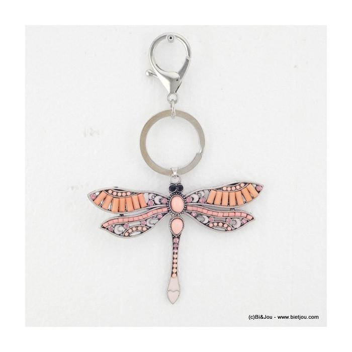 bijou de sac - porte-clés libellule 0815521