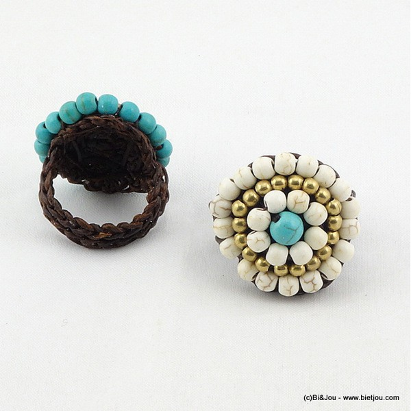 bague turquoise 0416008