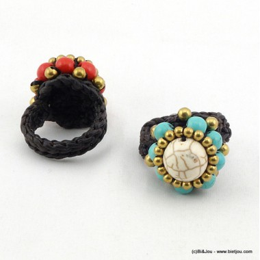 bague turquoise 0416009