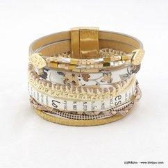 bracelet 0216077 naturel/beige