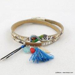 bracelet 0216080 naturel/beige