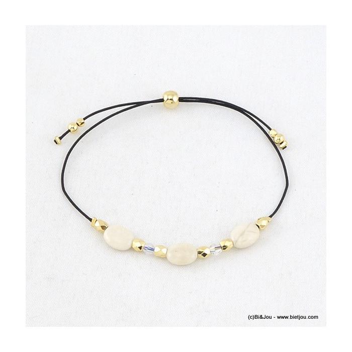 Bracelet pierres naturel et perles
