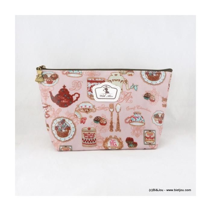 pochette vintage service à thé 0916064