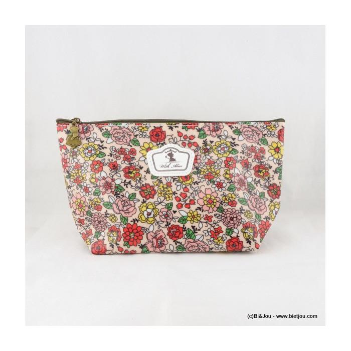 pochette vintage fleurs 0916066