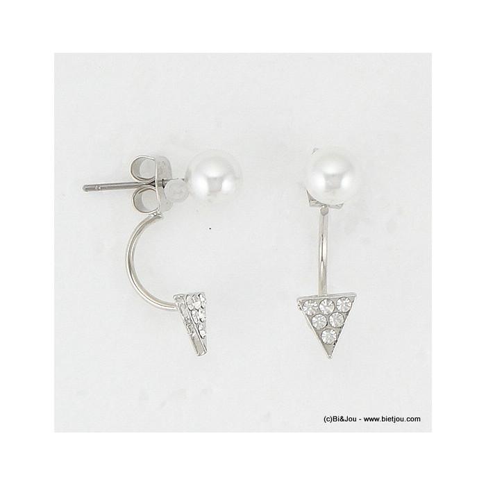boucles d'oreille sous lobe imit.perle 0316084