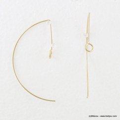 boucles d'oreille 0316123 argenté