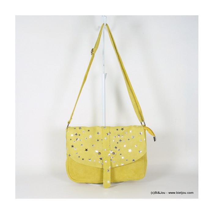 sac à main étoiles femme en cuir véritable 0916114
