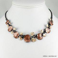 collier 0116553 marron