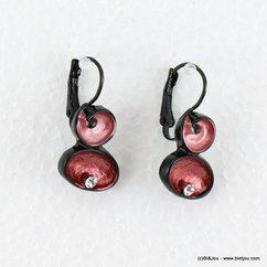 boucles d'oreille 0316516 marron