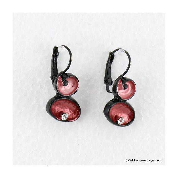boucles d'oreilles émail 0316516