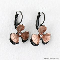 boucles d'oreille 0316517 marron