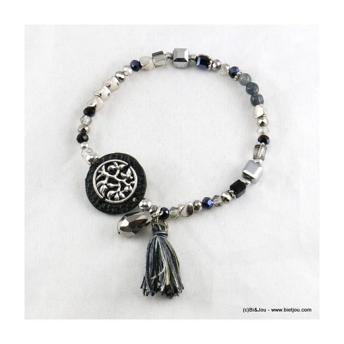 bracelet arbre de vie pompon 0216515