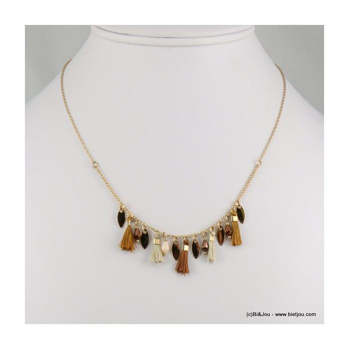 collier pompon 0116565
