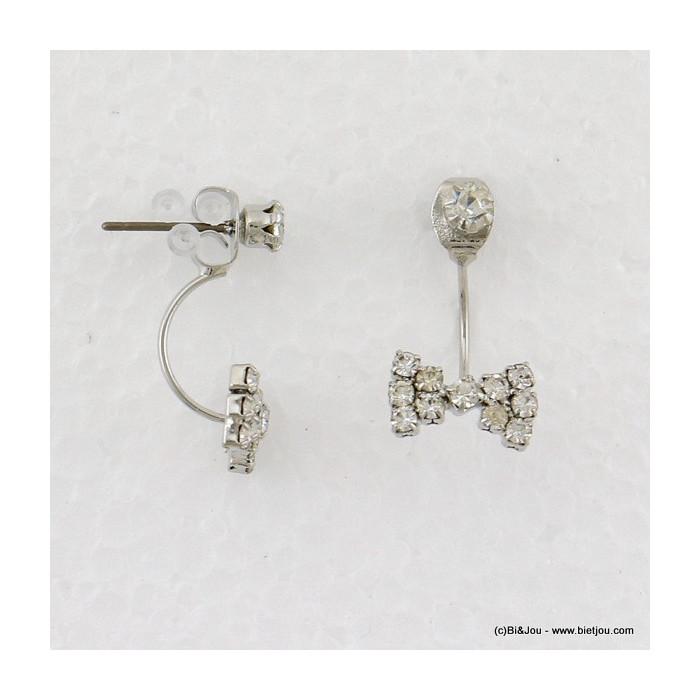 boucles d'oreilles sous-lobe noeud papillon 0316528