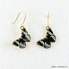 boucles d'oreille 0316539 noir