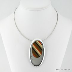 collier 0113019 marron