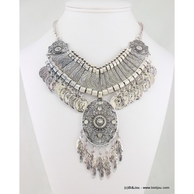 collier plastron antique 0116585