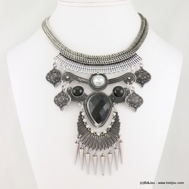collier plastron antique 0116586