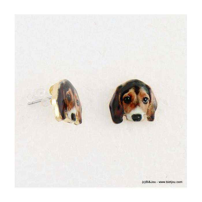 puce d'oreille chien fermoir poussette 0316584