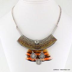 collier 0116523 marron
