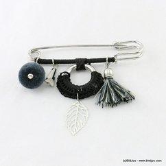 broche 0516504 noir