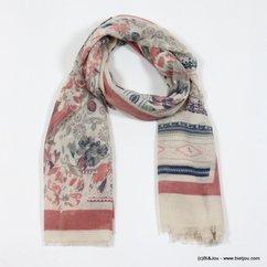 foulard 0716511 rose