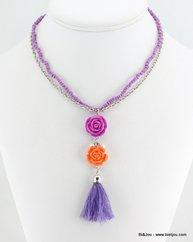 collier 0113228 violet