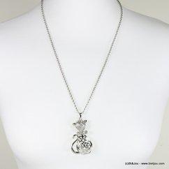 collier 0116659 argenté